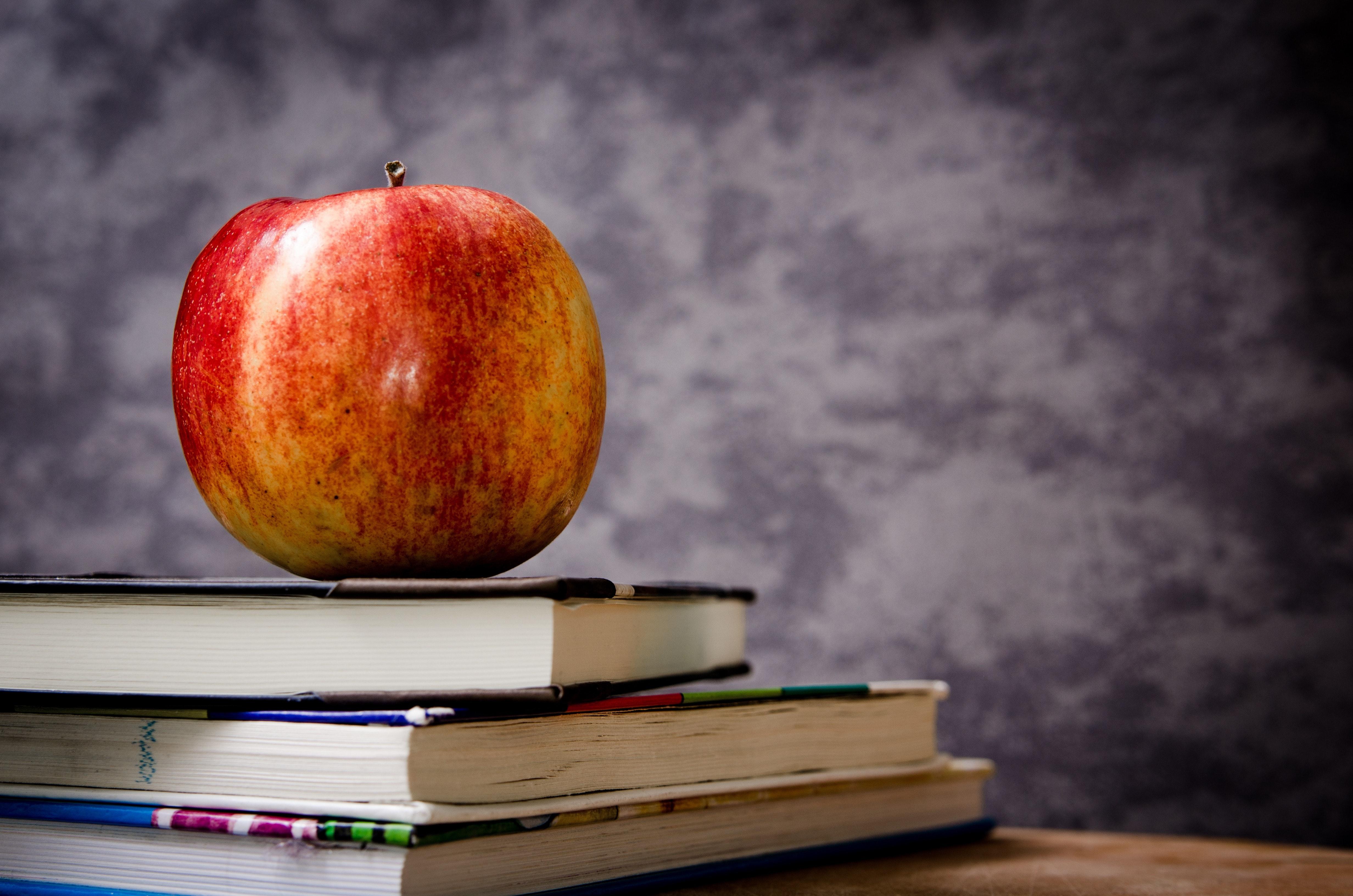 apple-blackboard-books-60583